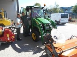 Rationelles Kehren ist jetzt bei der Firma Pfaff Naturdienste Oberkirch