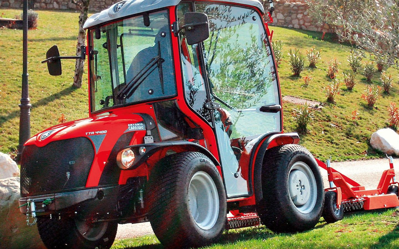 Carraro TTR 4400 - hydrostatisch, umkehrbar, multifunktional