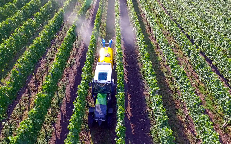 Vicar Pflanzenschutzgerät z.B. Doppelturbine für Obst- und Weinbau